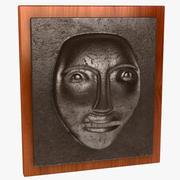Face Wall Plaque 3d model