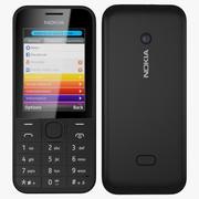 Nokia 208 3d model