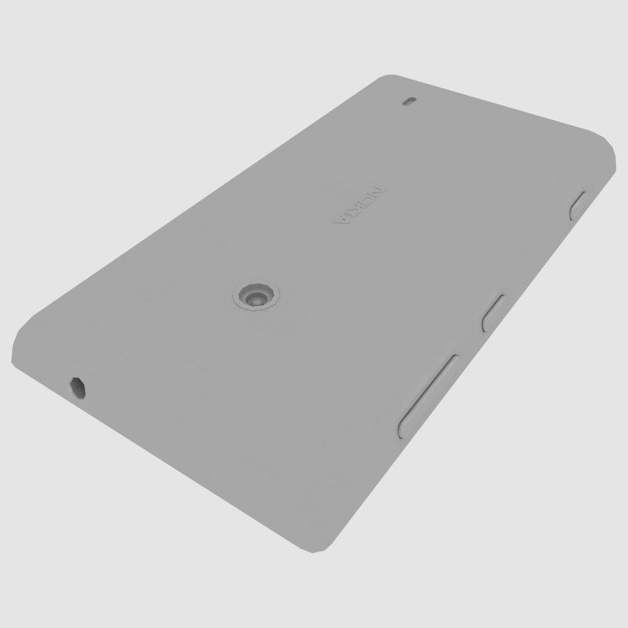 Nokia Lumia 520 Blue royalty-free modelo 3d - Preview no. 36