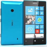 Nokia Lumia 520 Azul 3d model
