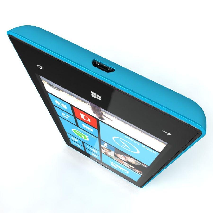 Nokia Lumia 520 Blue royalty-free modelo 3d - Preview no. 11