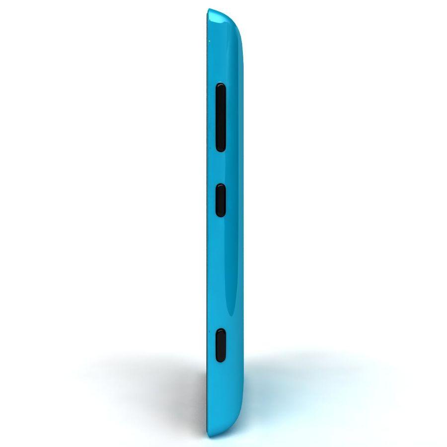 Nokia Lumia 520 Blue royalty-free modelo 3d - Preview no. 7