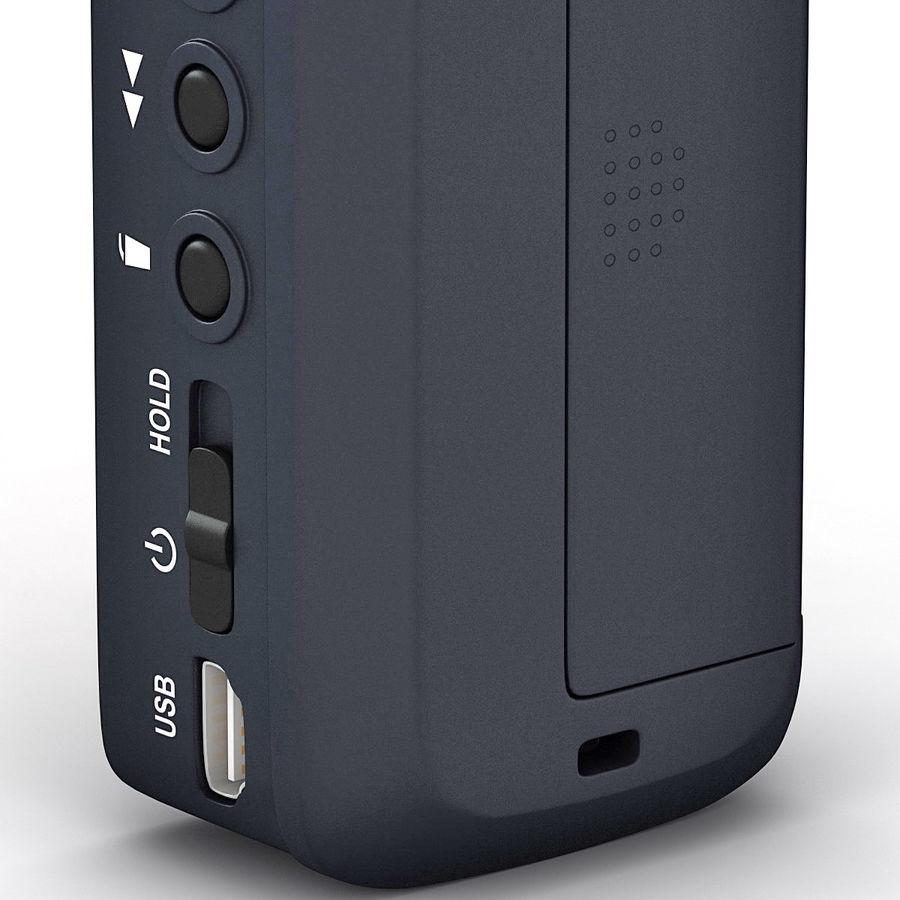 Portable Digital Recorder Zoom H1 3d Model 39 C4d Lwo Max