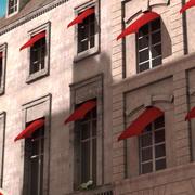 Parijse gebouwen 3d model