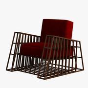 扶手椅006 3d model