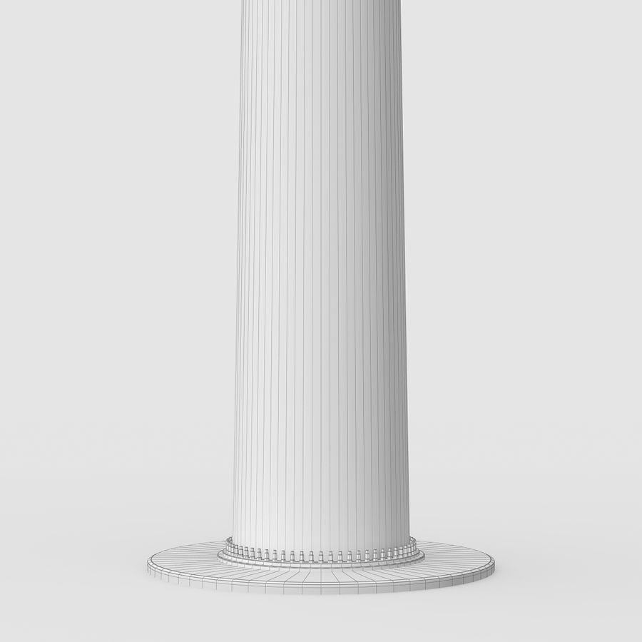Ветровая турбина royalty-free 3d model - Preview no. 13