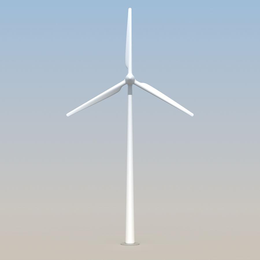 Ветровая турбина royalty-free 3d model - Preview no. 9