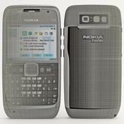 Nokia E71 3d model