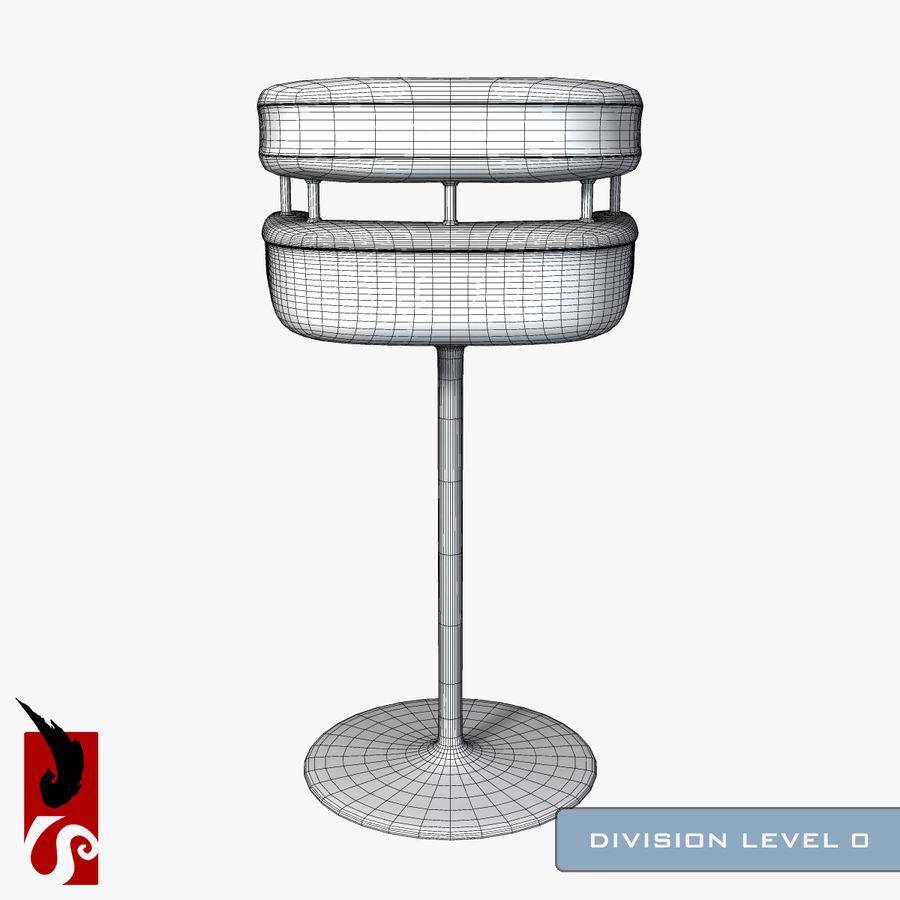 Bar Stool royalty-free 3d model - Preview no. 11