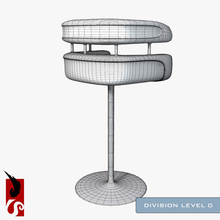 Bar Stool royalty-free 3d model - Preview no. 10