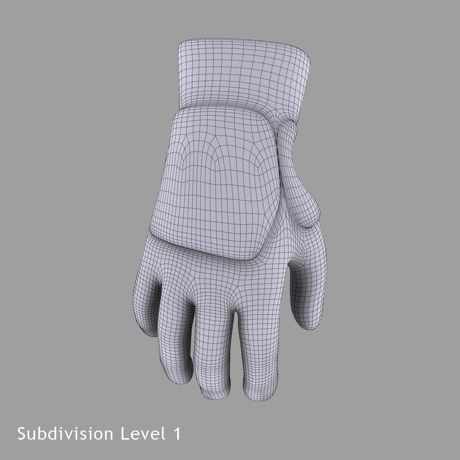Перчатка Спорт royalty-free 3d model - Preview no. 17