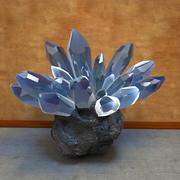 Crystal Quartz Stone Rock 3d model