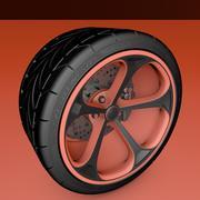Hjuldäck brakesc6 3d model