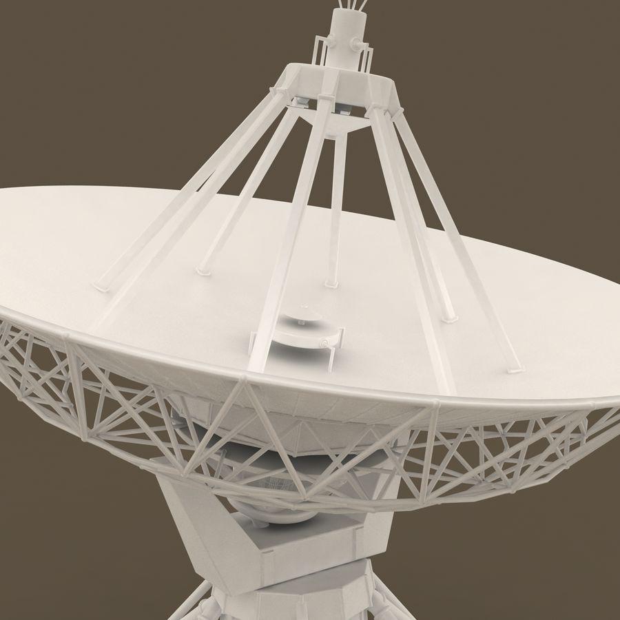 Satellite Dish royalty-free 3d model - Preview no. 3