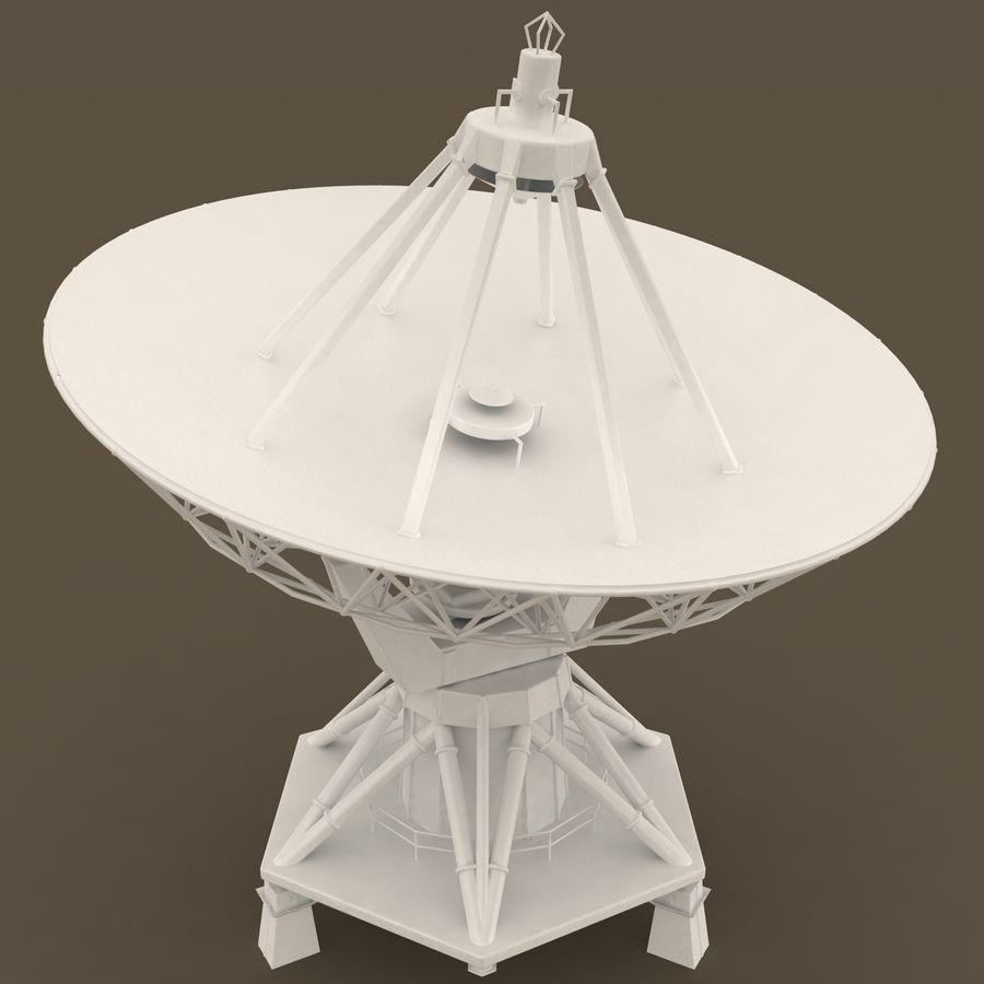 Antena satelitarna royalty-free 3d model - Preview no. 3