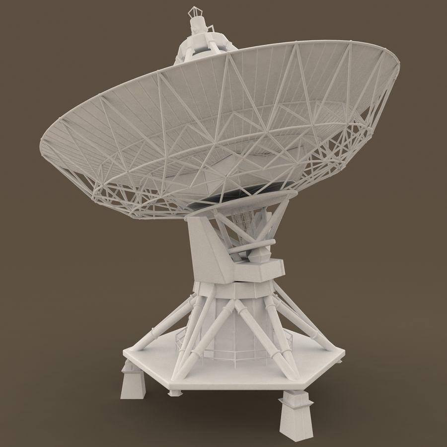 Antena satelitarna royalty-free 3d model - Preview no. 7