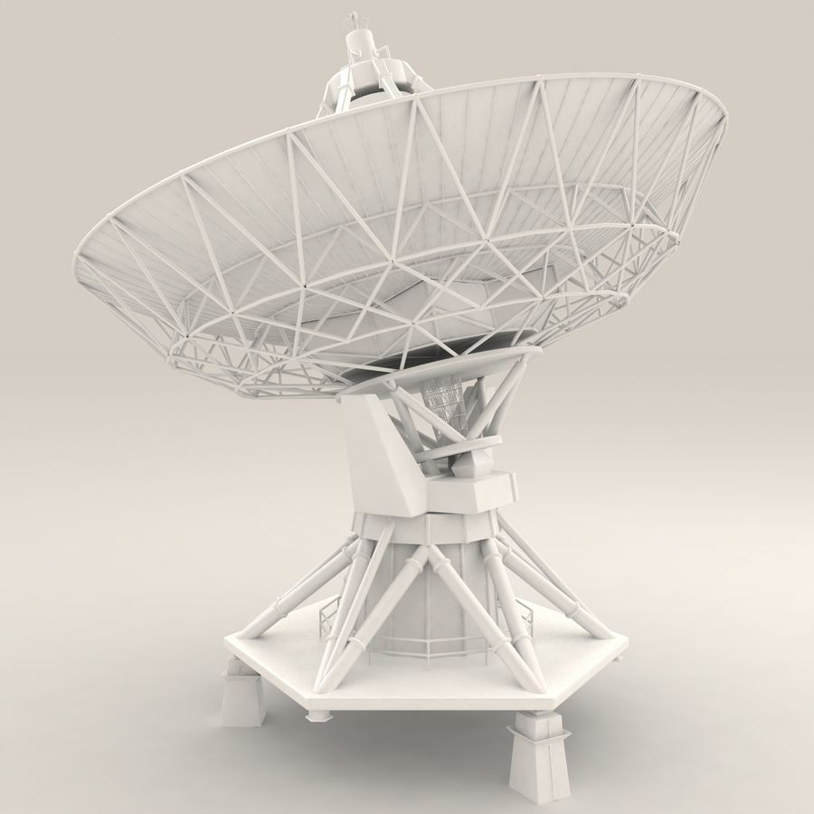 Antena satelitarna royalty-free 3d model - Preview no. 8