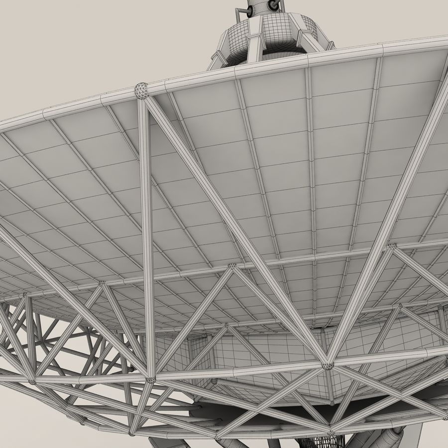 Antena satelitarna royalty-free 3d model - Preview no. 12
