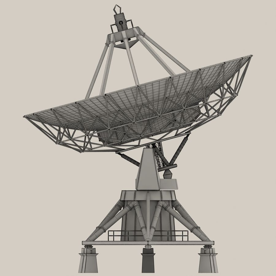 Satellite Dish royalty-free 3d model - Preview no. 14