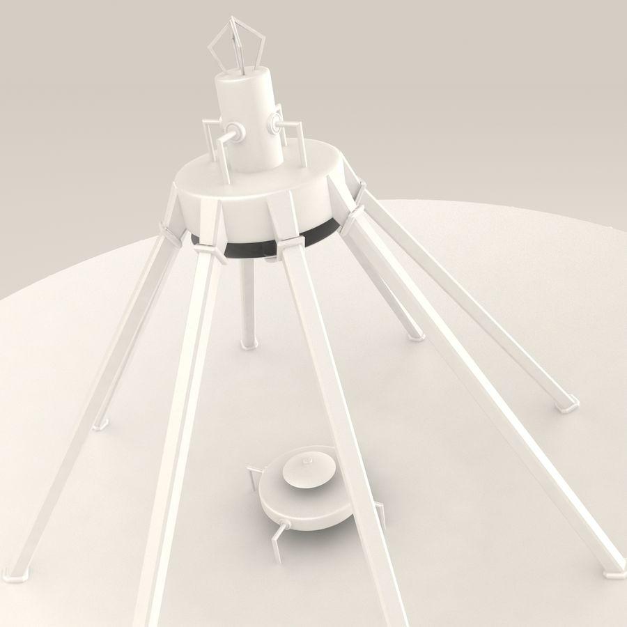 Antena satelitarna royalty-free 3d model - Preview no. 11