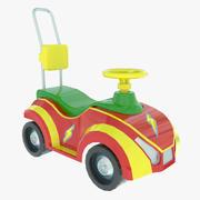 おもちゃのカーシート 3d model