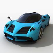 파가니 후아이라 재 설계 3d model
