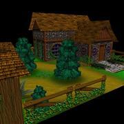çiftlik 3d model