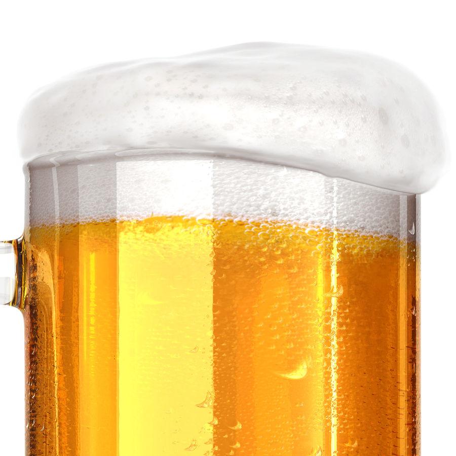 Vaso de cerveza royalty-free modelo 3d - Preview no. 11