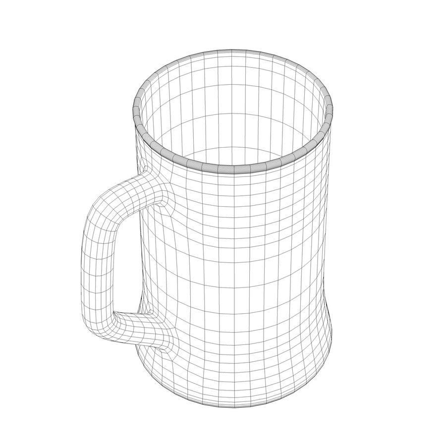 Vaso de cerveza royalty-free modelo 3d - Preview no. 17