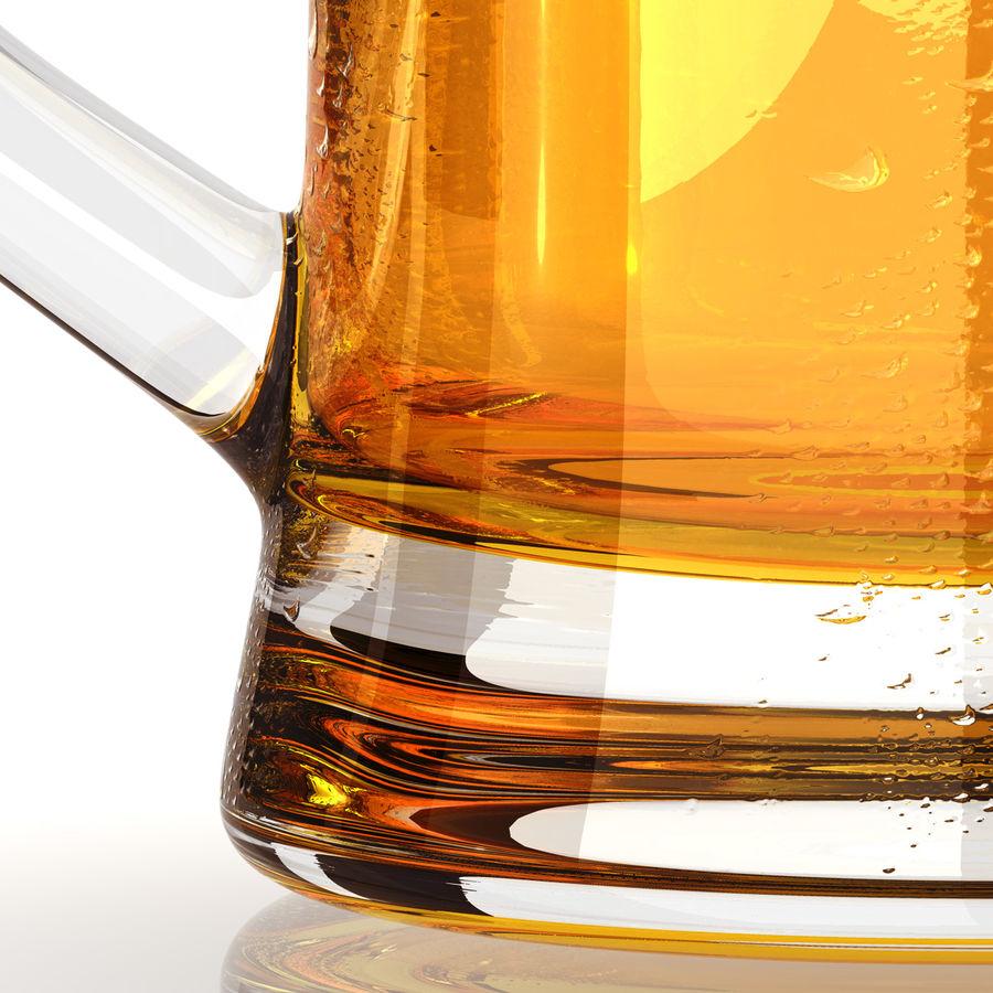 Vaso de cerveza royalty-free modelo 3d - Preview no. 9
