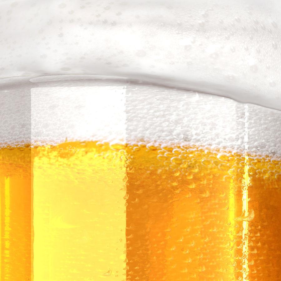 Vaso de cerveza royalty-free modelo 3d - Preview no. 14