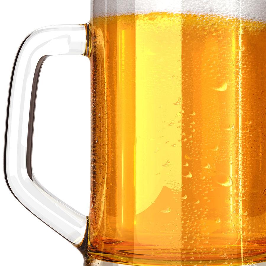 Vaso de cerveza royalty-free modelo 3d - Preview no. 13