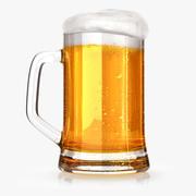Vaso de cerveza modelo 3d
