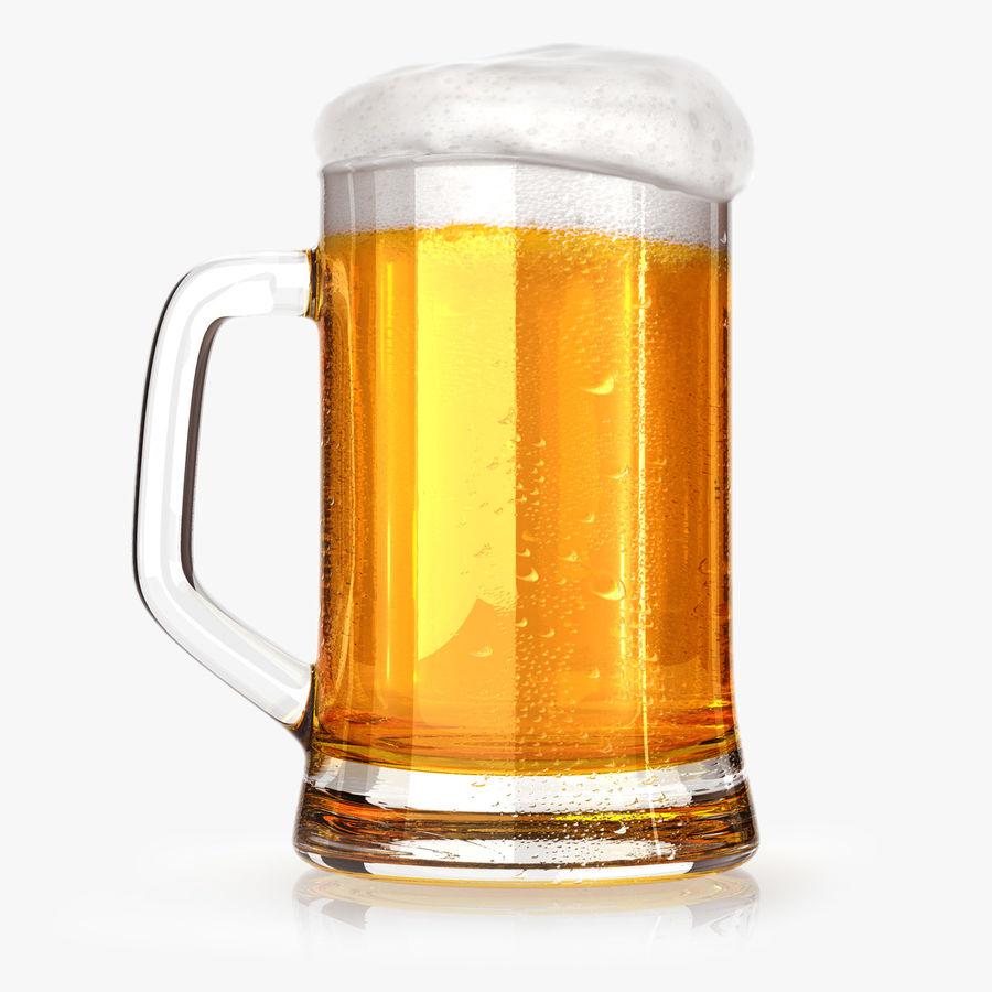 Vaso de cerveza royalty-free modelo 3d - Preview no. 1
