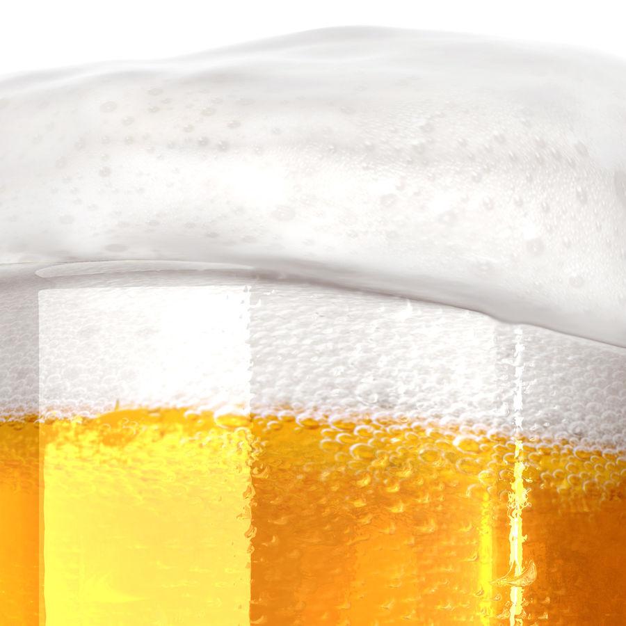 Vaso de cerveza royalty-free modelo 3d - Preview no. 7