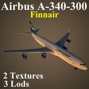 A343鳍 3d model