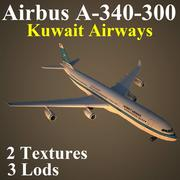 A343 KAC 3d model