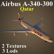 A343 QTR 3d model