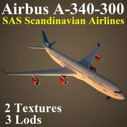 A343 SAS 3d model