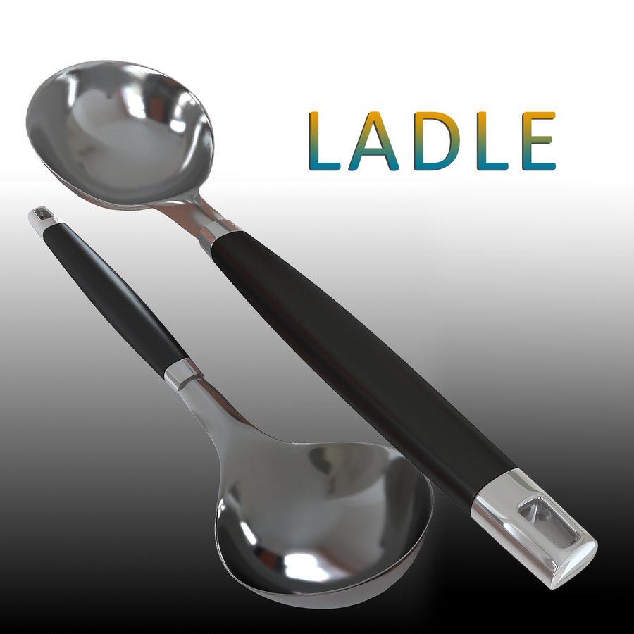 調理器具 royalty-free 3d model - Preview no. 1