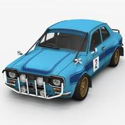 Car Rally Game Ready 3d model