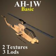 AH1W Basic 3d model