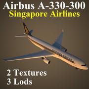 A333新航 3d model