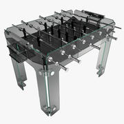 Cristallino Foosball Table 3d model