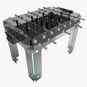 クリスタリーノフーズボールテーブル 3d model