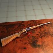 fucile da caccia 3d model