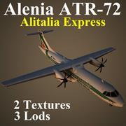 AT72 AZA 3d model