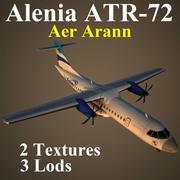 AT72 REA 3d model