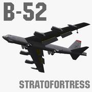 B-52H Stratofortress 3d model
