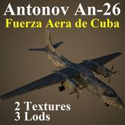 AN26 FAR 3d model
